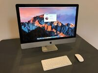 Fantastic Apple iMac 27inch - Perfect Order - Upgraded to SSD - Professionally Refurbished