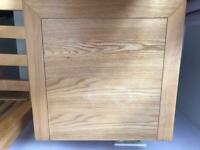 Barker and stone house kingside bed and bedside draws
