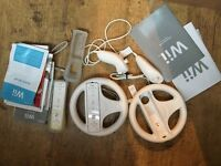 Nintendo wii with accessories for sale