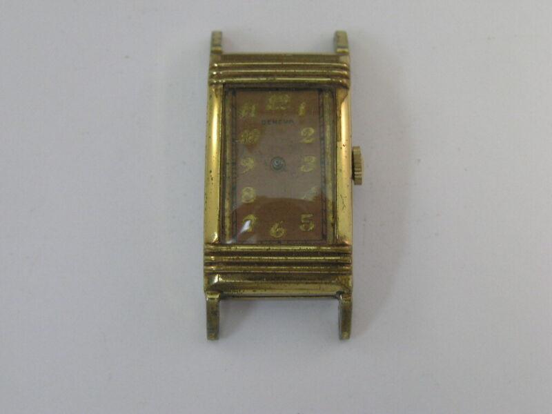 Vintage Geneva Watch Fancy Case 1930