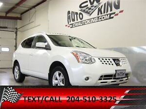 2009 Nissan Rogue SL / Leather / Sunroof / All Wheel Drive