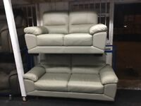 NEW/EX DISPLAY LEATHER VIXONS 3 +2+1 SEATER SOFAS, SUITE, SETTES 70% Off RRP