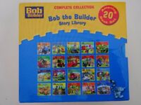 Set of 20 Bob the Builder book set in hard board case