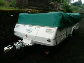 Conway folding camper