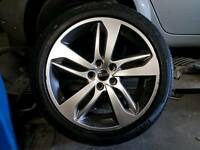 "20"" alloy wheels range rover sport"