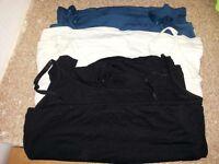 Bundle of 3 breastfeeding nursing vests size M (10-12)