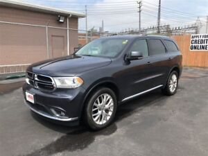 2016 Dodge Durango Limited- SUNROOF, REAR VIEW CAMERA, BACKUP SE