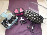Heated rollers and accessories