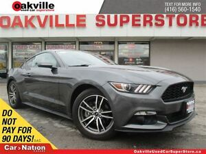 2016 Ford Mustang EcoBoost | 6 SPD M/T | RECARO SEATS | ALLOYS |