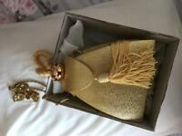 Gold Wedding Bag brand new