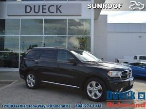 2015 Dodge Durango Limited  Leather - DVD - Sunroof