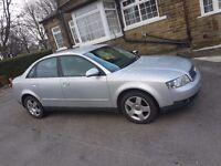 Audi a4 low milage