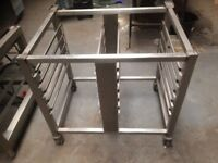 Rational Oven Stand Measures 83 cm Wide x 65 cm Deep x 80 cm High Bargain £80