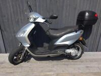 Piaggio fly 50cc two stroke one year mot full logbook one owner from new 495 Ono
