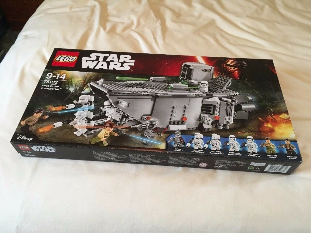 LEGO 75103 Star Wars - First Order Transporter Set (New) - Collect Only
