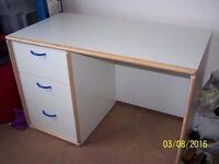large 3 drawer desk