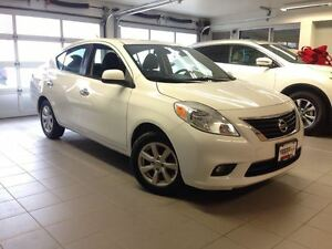 2012 Nissan Versa 1.6 SL 1 OWNER LOCAL TRADE!!