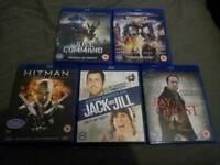 5 movies Blu-ray collection bundle joblot