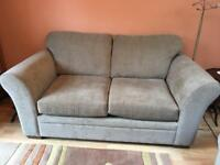 Next 2 seater Mink coloured sofa