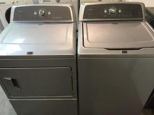 18- MAYTAG BRAVOS MCT Laveuse Secheuse Haute Efficacite Washer Dry