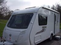 Swift Fairway 460 (2009) 2-berth caravan in excellent condition and with many extras