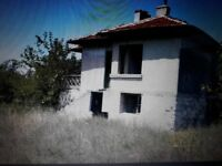 Bulgarian house investment or renovation project. Beautiful views in quiet village 20 mins nr yambol