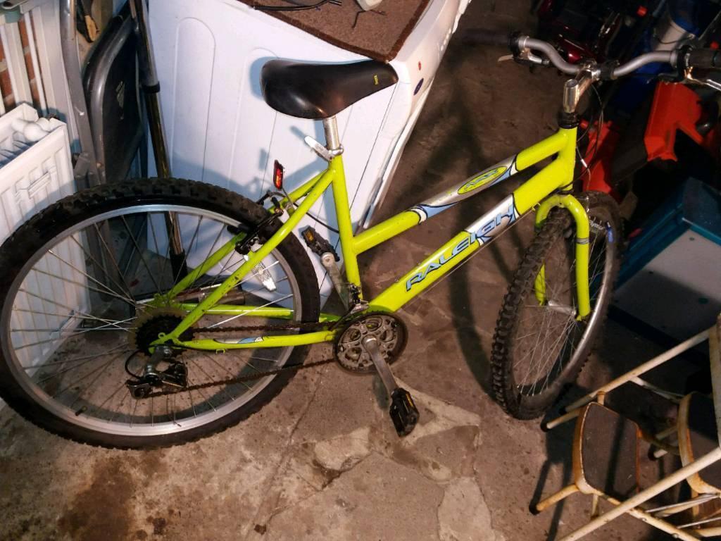 Lady's full size mountain bike