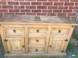 Wooden unit/cabinet