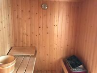 Finnolme Sauna for Sale, 4/5 person, excellent condition, indoor use only, perfect for relaxing