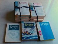 Vintage Readers' Digest magazines 1969 & 1970 (complete) plus 10 odd issues