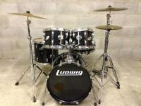 Ludwig drum kit Paiste Cymbals drums and hardware everything