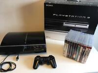 PS3 fat PS2 compatible (320gb)