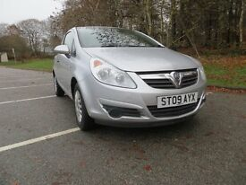 vauxhall corsa 3 door two lady owners