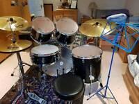 Mapex Q Series Rock Size Drumkit