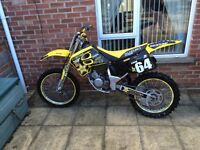 Rm 125 super evo 1995 mint condition recently serviced also single bike trailer full package