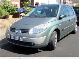 2005 RENAULT SCENIC AUTOMATIC WITH JUST 48000 miles 1 former keeper