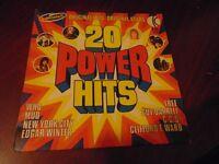 POWER HITS 2O ORIGINAL HITS VINYL LP
