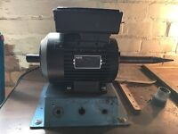 AEG single phase motor. 12 months old. Double spindle. Hardly used.