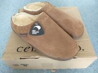 Sheepskin slippers by Celtic & co. Brand new. Unisex