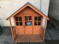 Children's Wooden Playhouse