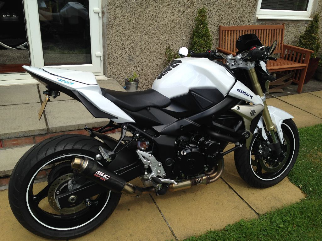 suzuki gsr 750 2011 in corstorphine edinburgh gumtree. Black Bedroom Furniture Sets. Home Design Ideas