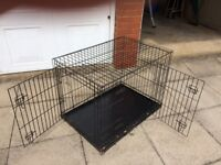 Dog cage 36in.x24in. 26in high
