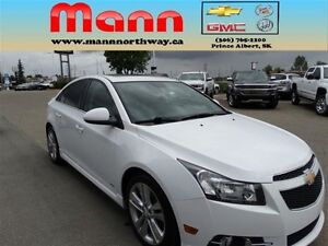 2013 Chevrolet Cruze LT Turbo - PST paid, Sunroof, Safety packag