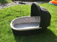 Oyster carry cot -Black
