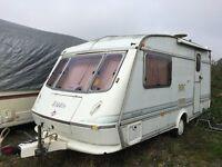 Eldis hurricane GT 2 berth caravan