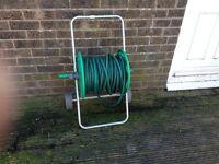 Garden Hose Reel Hozelock Cart & hose