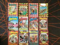 Collection of 'The Broons' Annuals