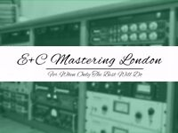 Professional analog mastering performed in a professional acoustically treated mastering suite