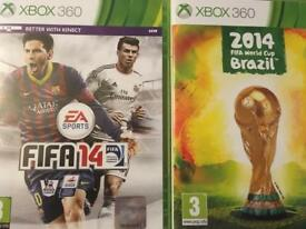 Xbox 360 Fifa 14 + Fifa 14 World Cup