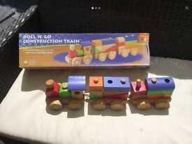 Roll n' go construction train
